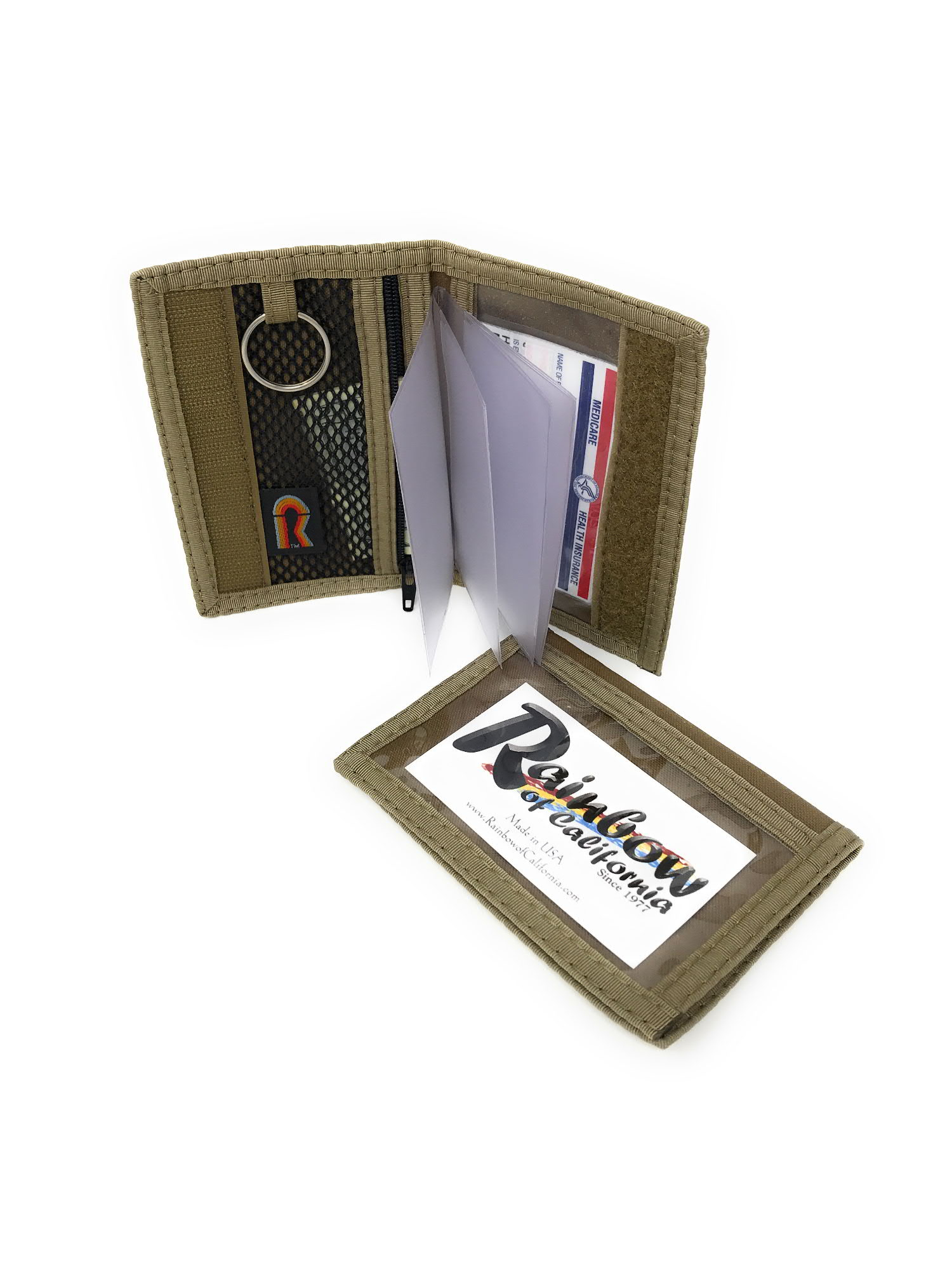 37b86c34c850 CLOSE-OUTS - Dual sided Pocket or Purse ID Holder - (Increase available  Capacity - Add Wallet Insert $1 More)